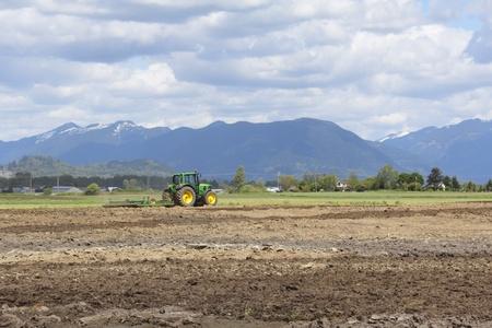 Plowing the Field-2 Stok Fotoğraf - 13540022