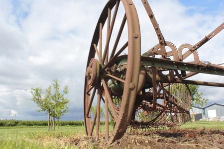 Een Oude Antieke Farm Implement