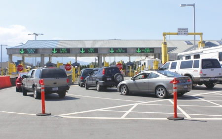 The American border crossing at Sumas, Washington Editorial