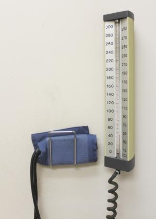 blood pressure monitor: Professional Blood Pressure Monitor Stock Photo