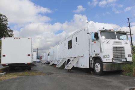 Film Industry mobile trucks