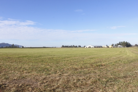 as far as the eye can see: Wide open acreages on the Canadian prairie