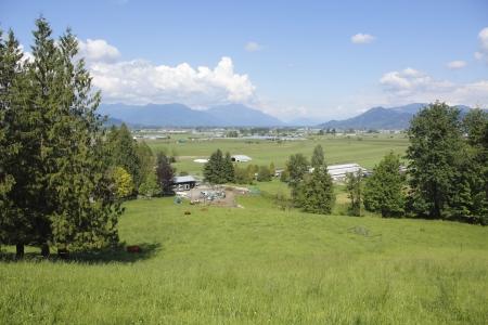 The Fraser Valley in the summertime