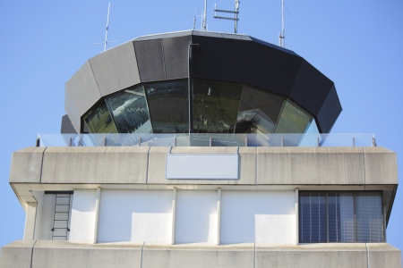 atc: A small control tower in a medium sized North American city