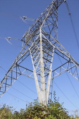 Hydro Electric Tower Reklamní fotografie