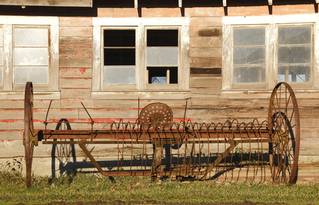 bygone days: Traditional Antique Horse Rake
