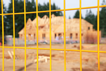 property: A wire fence is used to protect property.