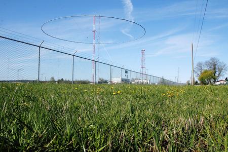 transmitting: Matsqui Canadian Military Transmitting Antennas