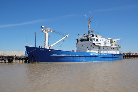 lake winnipeg: The Lake Winnipeg Research Vessel is used to collect lakewide research data on the health of Lake Winnipeg.