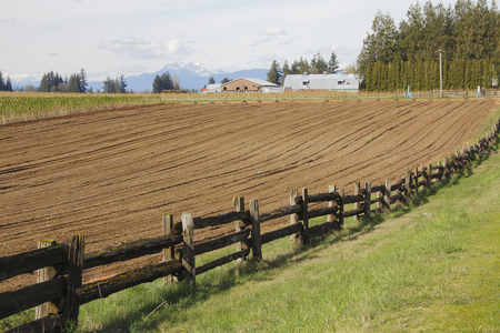 seeding: Land has been tilled and is ready for seeding.