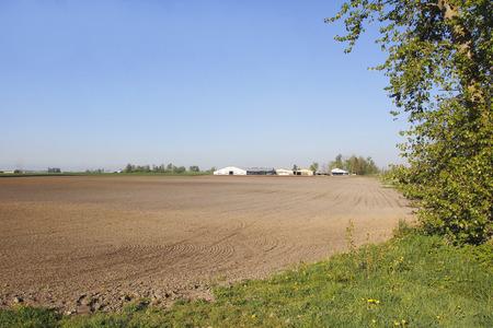 seeding: Preparing land for seeding in western Canada.