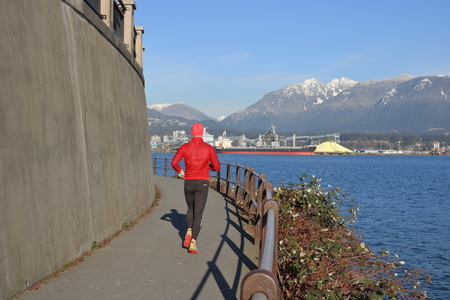 staying fit: The Stanley Park seawall in Vancouver and Brockton Point is a popular place for staying fit.
