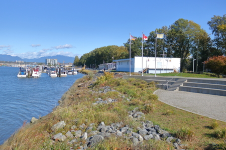 The Richmond Yacht Club, an organization on Canadas west coast that provides social outlets for sailing enthusiasts in Richmond, BC seen here on October 17, 2017. Editorial