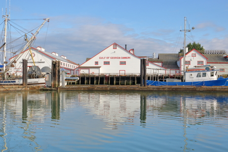 The Gulf of Georgia Cannery, an historic site in Steveston, BC, preserves the cultural and heritage history of life on the west coast as seen on September 26, 2017. Editorial