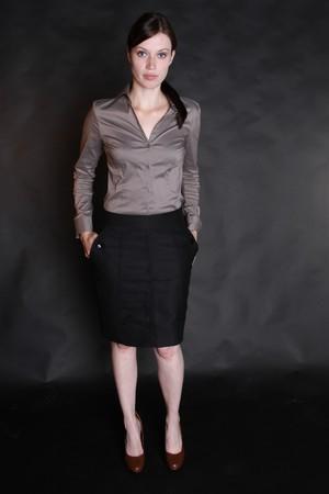 A beautiful business woman photo