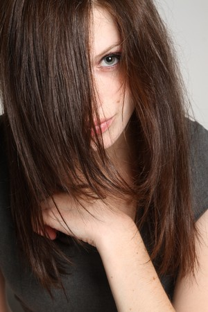 Women with long hairs Stock Photo - 7906866