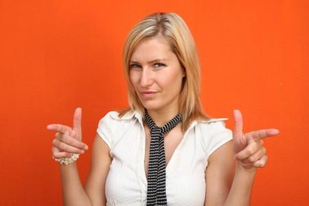 stimuli: Woman portrait Stock Photo