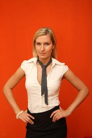 humanly: Woman portrait Stock Photo