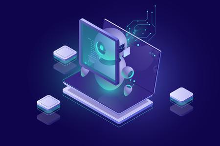Datenschutzsicherheit, Malware-Scanning, Virenerkennung, Authentifizierung und Autorisierung durch biometrisches Parameterkonzept, Rotob