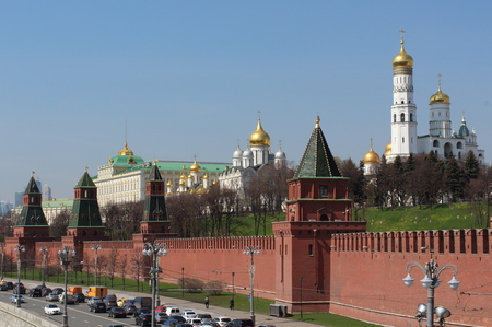 orthodox church: Palace of Congresses and the Orthodox Church in the Moscow Kremlin