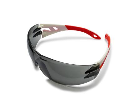goggle: Safety glasses goggle isolated on white background