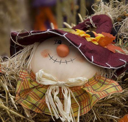 Autumn abundance, season decoration, cute