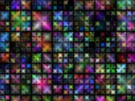 Digital abstract conceptual futuristic geometric background
