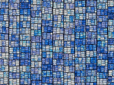 Abstract conceptual and futuristic architectural patterns background