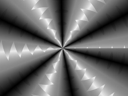 Abstract metal screw futuristic geometric  pattern background