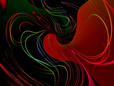 Abstract colorful modern and decorative digital  background