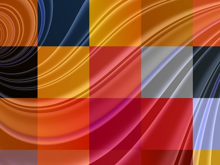 digitally generated image: Abstract square gradient  colorful shape, digitally generated Image  Abstract square gradient  colorful shape, digitally generated Image   Abstract  squares  colorful background Stock Photo
