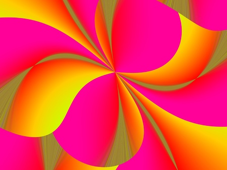 Abstract colorful  festive digital dynamic style background Stock Photo