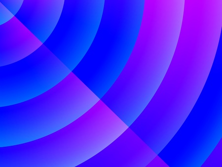 Abstract radio wave radiate blue pattern background