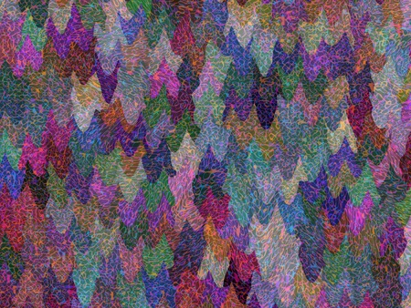 Abstract colorful textile flowing pattern ornamental background