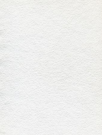 Handmade white paper.
