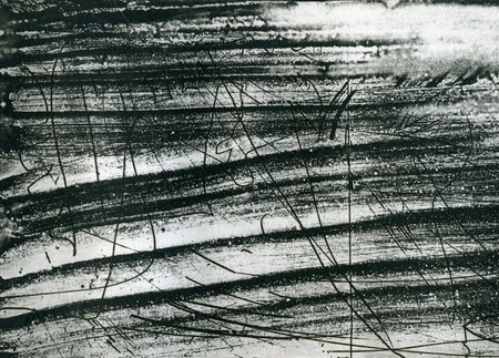 Abstract scrached grunge background, black and white texture