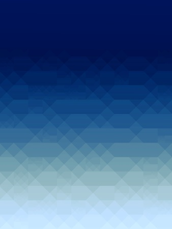 Abstract blue squares background, decorative digital pattern