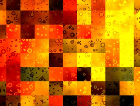 Abstract squares background, decorative multicolor modern pattern