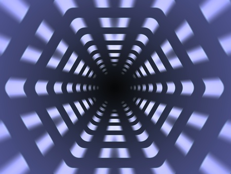 Abstract digital background, dynamic modern powerful space Stock Photo - 13729457
