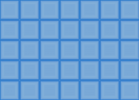 Abstract blue squares background, decorative gradient pattern