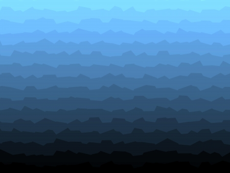 Abstract blue wave background modern gradient pattern Stock Photo
