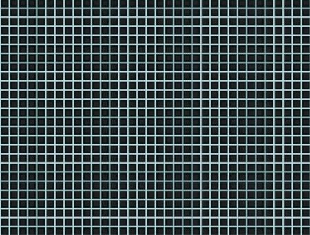 Abstract black square background technical precision matrix Stock Photo