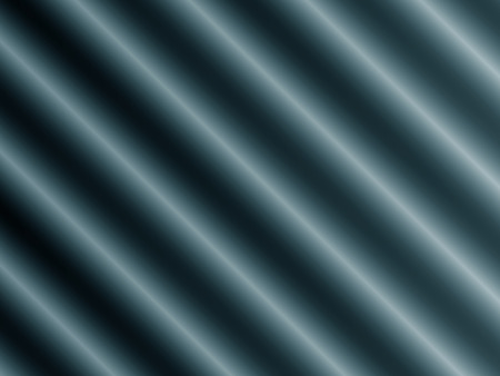 Abstract decorative modern blue cylinders diagonal pattern
