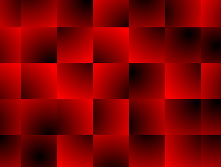 Abstract background red gradient geometric square block