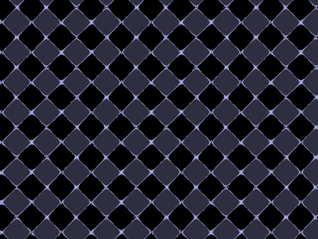 sectioned: Squared background, black, blue diagonal pattern matrix