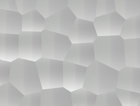 Abstract background decorative gray gradient hexagons pattern
