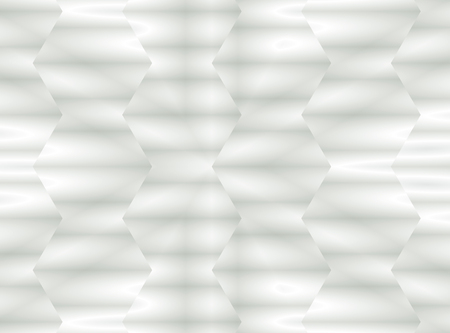 Abstract background, modern geometric white gradient hexagons
