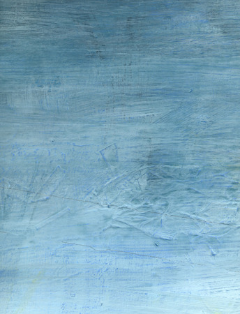 Abstract vintage rustic scrached old blue wall