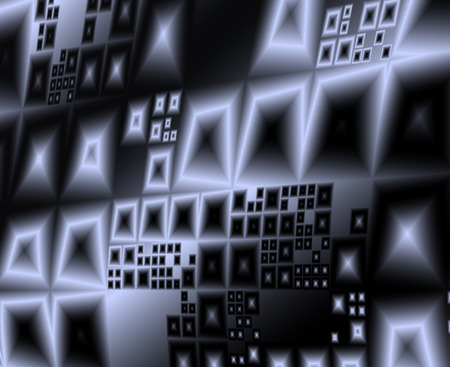 Abstract  modern wall architecture contemporary geometric dynamic background Stock Photo