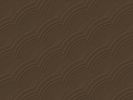 Abstract brown diagonal  decorative dynamic waves background